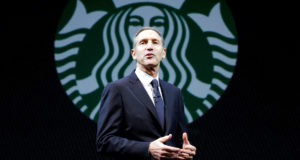 Howard Schultz is to step down as Starbucks chief executive